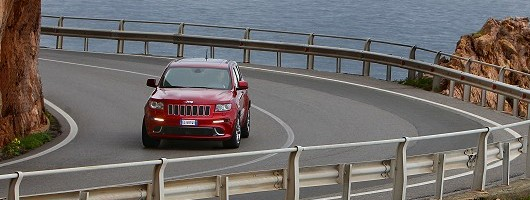 First drive: Jeep Grand Cherokee SRT. Image by Jeep.