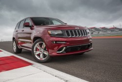 2013 Jeep Grand Cherokee SRT. Image by Jeep.