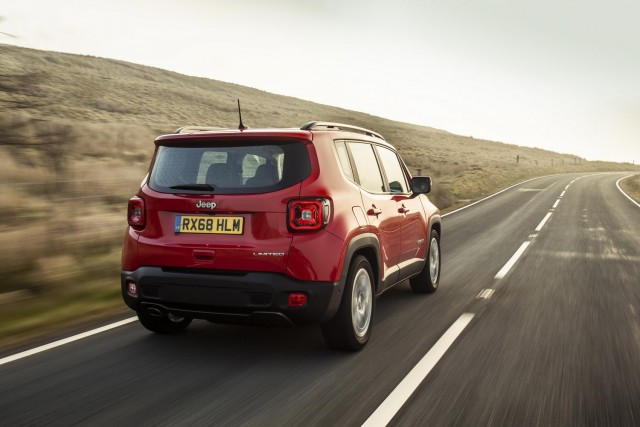 Driven: Jeep Renegade 1.0 T3. Image by Jeep UK.