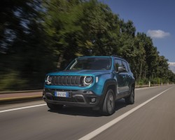 Jeep Renegade 4xe PHEV tested. Image by Simon Thompson/Jeep.