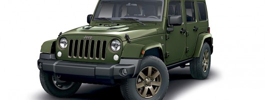 Jeep celebrates 75 years. Image by Jeep.