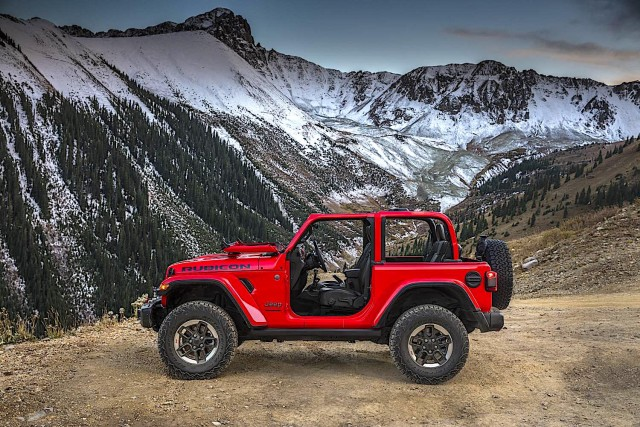 Rugged new Jeep Wrangler breaks cover. Image by Jeep.