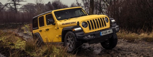 Driven: Jeep Wrangler Rubicon. Image by Jeep UK.
