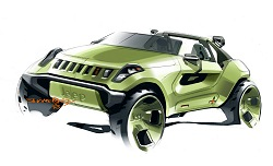 2008 Jeep Renegade concept. Image by Jeep.