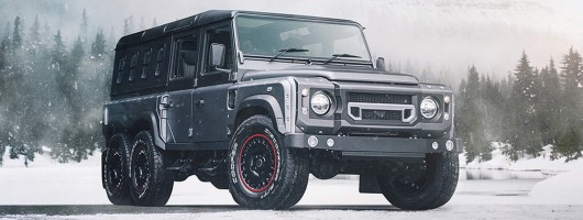 Chelsea Truck Co gives Defender another axle. Image by Kahn.
