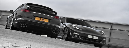 New Kahn Panamera Wide Track Edition. Image by A. Kahn Design.