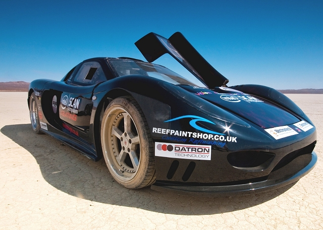 260mph supercar for MPH Show. Image by Keating.