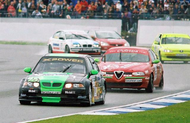 British touring car championship 2002 rounds 7 and 8 silverstone the car enthusiast