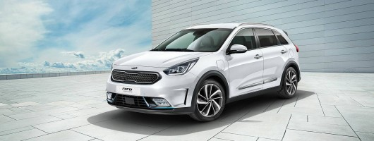 Kia turns Niro into a PHEV. Image by Kia.