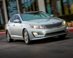 2014 Kia Optima Hybrid. Image by Kia.