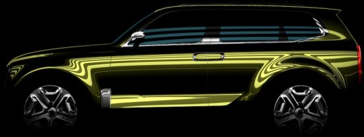 Kia's Detroit concept to be called Telluride. Image by Kia.