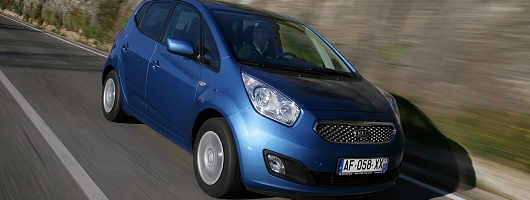 First Drive: 2010 Kia Venga. Image by Julian Mackie.
