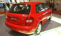 2004 Kia Cerato. Image by www.salon-auto.ch.