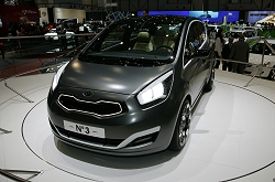 2009 Kia No. 3 concept. Image by Newspress.
