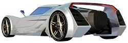 2006 Kia Sidewinder concept car. Image by LA Auto Show.