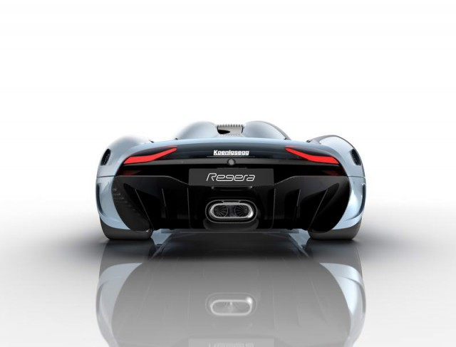 Nutty Regera has 1,500hp and no gears. Image by Koenigsegg.