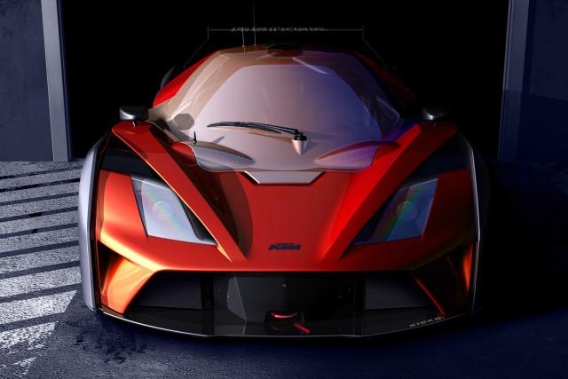 KTM teases GT4 contender. Image by KTM.