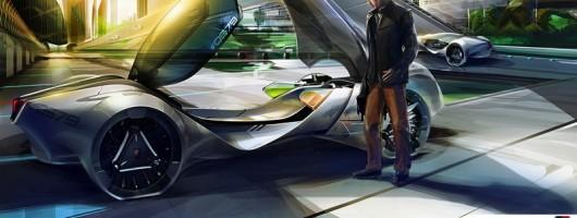 SAIC wins LA Design Challenge. Image by SAIC Motor.