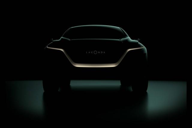 Lagonda All-Terrain Concept EV set for Geneva. Image by Lagonda.