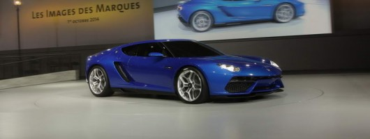 Lamborghini Asterion charges in for Concours d'Elegance. Image by Lamborghini.