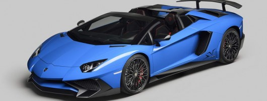 Lamborghini opens up 217mph Aventador SV Roadster. Image by Lamborghini.