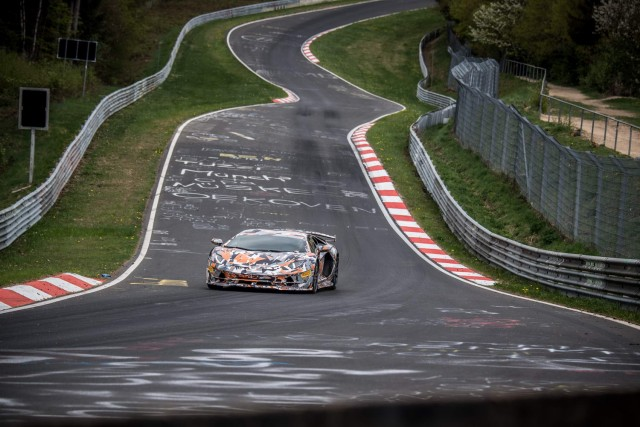 Lamborghini grabs 'Ring record. Image by Lamborghini.