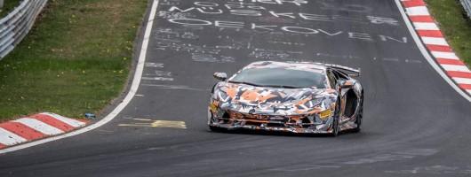Lamborghini grabs 'Ring record. Image by Lamborghini.