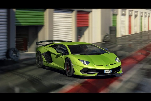 Lamborghini takes Aventador to new heights with SVJ. Image by Lamborghini.