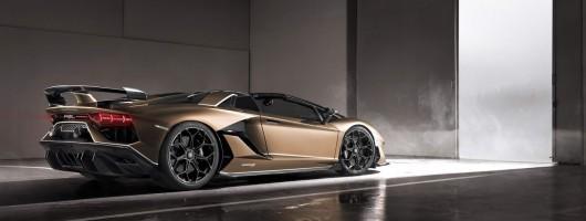 Lamborghini Aventador SVJ Roadster debuts in Geneva. Image by Lamborghini.