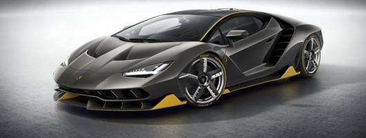 Lamborghini stops Geneva with mental Centenario. Image by Lamborghini.