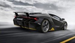 2016 Lamborghini Centenario. Image by Lamborghini.