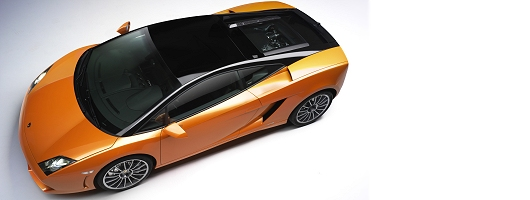 Lambo Gallardo goes two-tone. Image by Lamborghini.