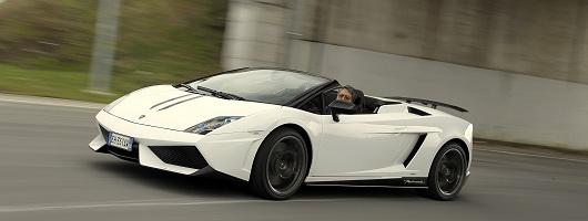 Delightful First Drive: Lamborghini Gallardo LP 570 4 Spyder Performante. Image By  Lamborghini.
