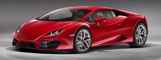 Lamborghini confirms two-wheel drive Huracan. Image by Lamborghini.