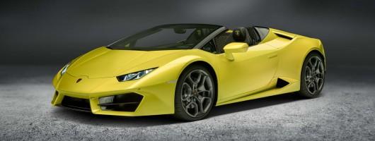 Huracan Spyder announced by Lamborghini. Image by Lamborghini.