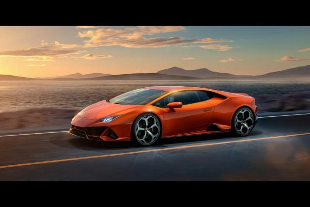 Regular Lamborghini Huracan goes to 640hp for Evo. Image by Lamborghini.