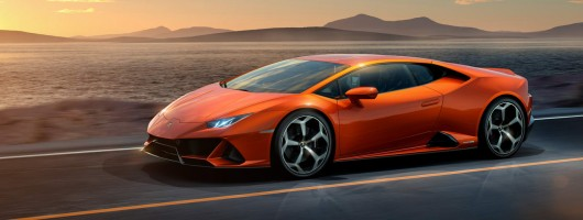 Regular Lamborghini Huracan goes to 640hp for Evo. Image by Lamborghini.