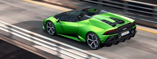 Lamborghini Evolves Huracan Evo Into Spyder Model News
