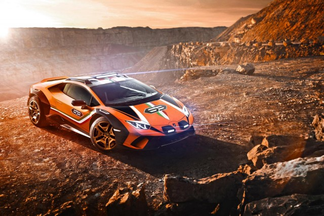 Lamborghini goes mad with Huracan Sterrato. Image by Lamborghini.