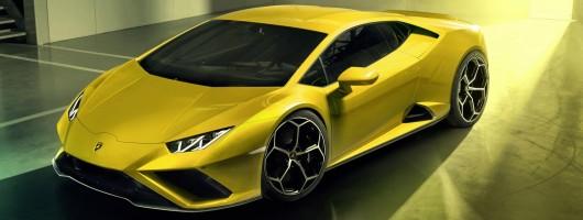 RWD for Lamborghini Huracan Evo. Image by Lamborghini.