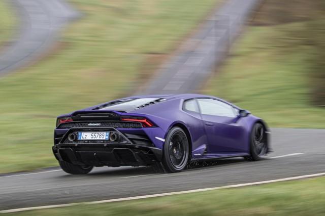 First drive: Lamborghini Huracan Evo RWD. Image by Lamborghini.