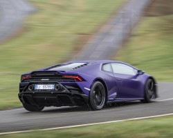 Lamborghini Huracan Evo RWD tested. Image by Lamborghini.