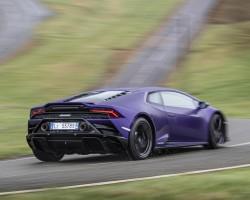 Lamborghini Huracan Evo RWD tested. Image by Lamborghini.
