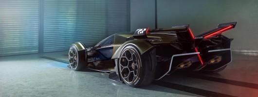 Lamborghini Lambo V12 is a digital masterpiece. Image by Lamborghini.