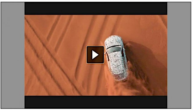 Lamborghini shows off Urus SUV on test. Image by Lamborghini.