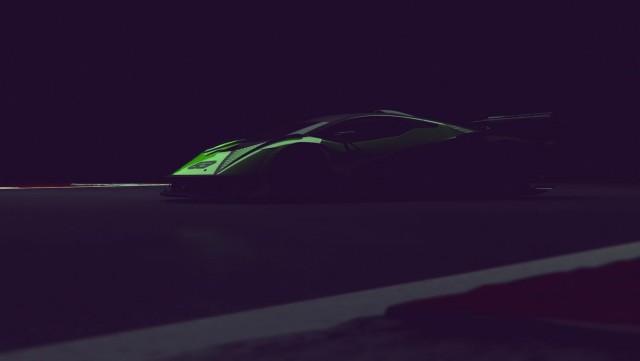 Lamborghini readies 830hp hypercar. Image by Lamborghini.