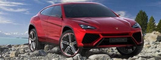Lamborghini confirms SUV production. Image by Lamborghini.