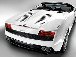2009 Lamborghini Gallardo LP560-4 Spyder. Image by Lamborghini.