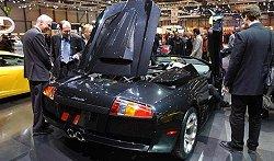 2004 Lamborghini Murcielago Roadster. Image by www.salon-auto.ch.