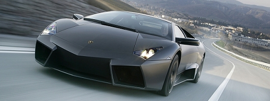 Lamborghini Revent�n to go under the hammer. Image by Lamborghini.